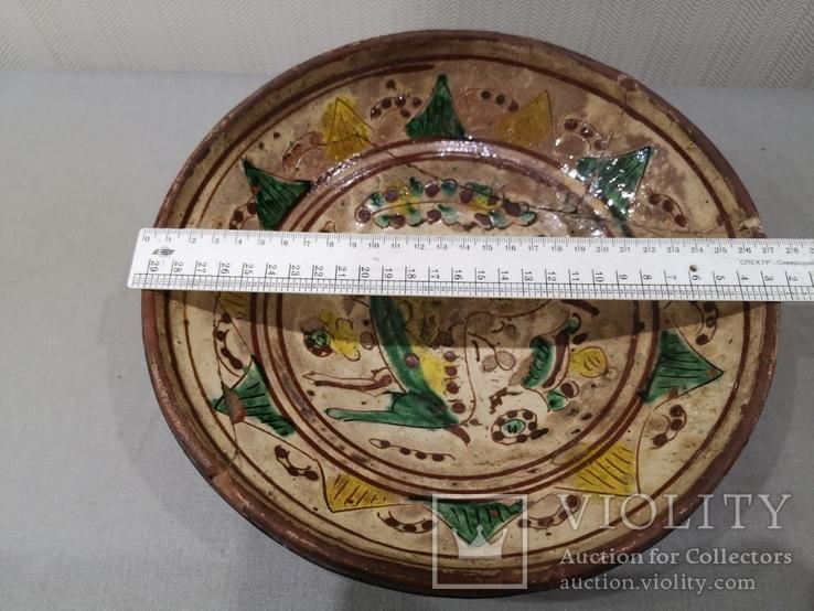 Сюжетна гуцульська миска, фото №6