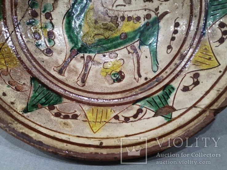 Сюжетна гуцульська миска, фото №13
