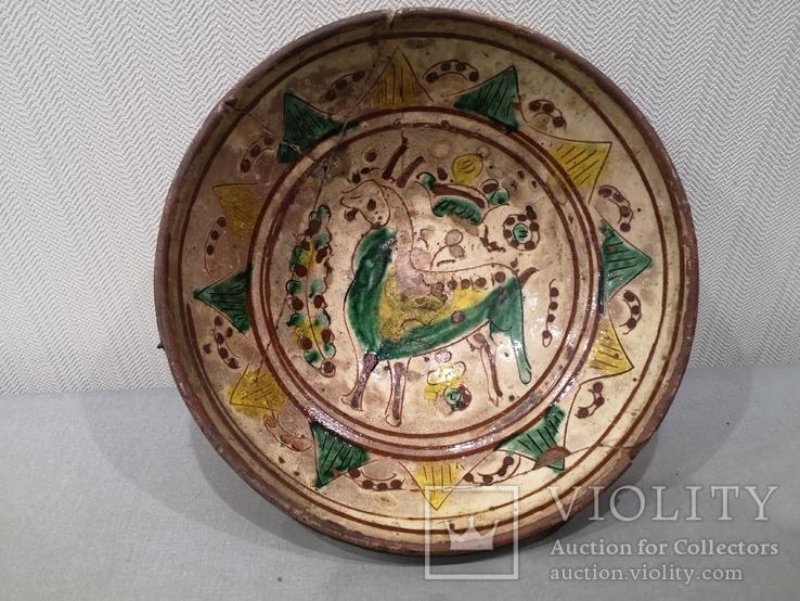 Сюжетна гуцульська миска, фото №2