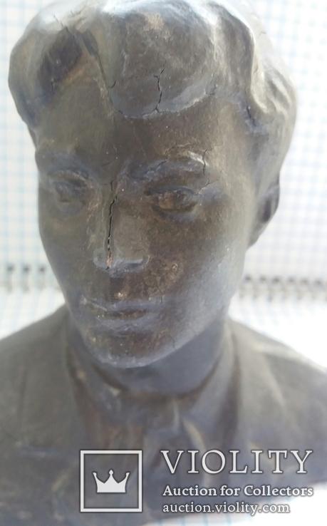 Бюст Есенин 11см., фото №2