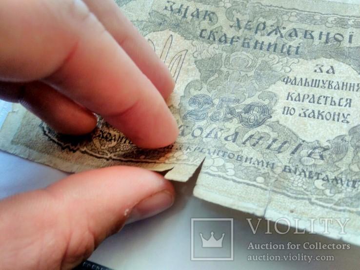 250 карбованцев 1918. АА 288414, фото №7