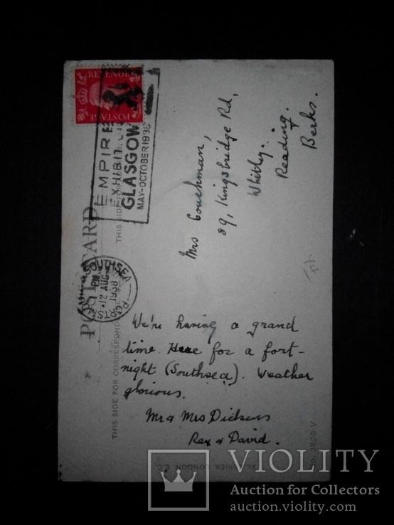 Открытка 1938 англия, фото №3