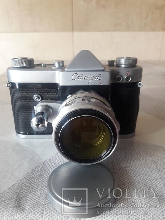 "Фотоаппарат ""Старт"" номер 6225817 с объективом Гелиос- 44 ном. 0125241, фото №2"