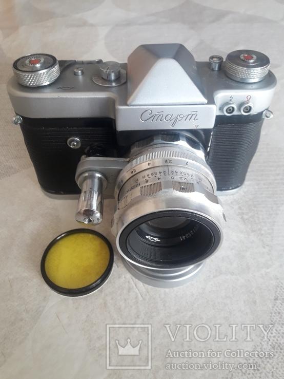 "Фотоаппарат ""Старт"" номер 6225817 с объективом Гелиос- 44 ном. 0125241, фото №3"