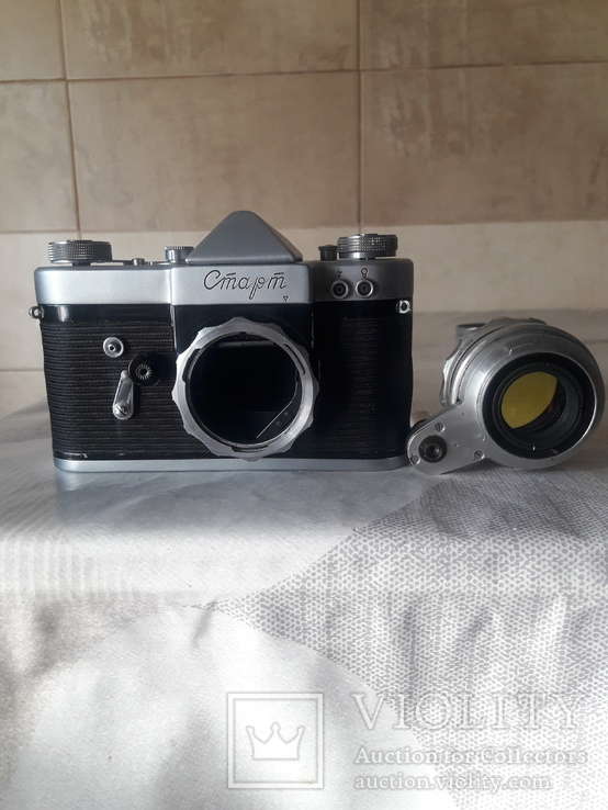 "Фотоаппарат ""Старт"" номер 6225817 с объективом Гелиос- 44 ном. 0125241, фото №5"