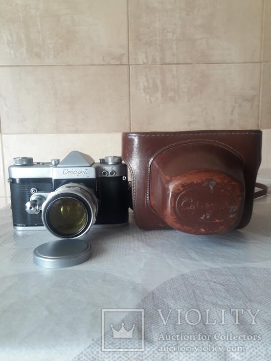 "Фотоаппарат ""Старт"" номер 6225817 с объективом Гелиос- 44 ном. 0125241, фото №6"