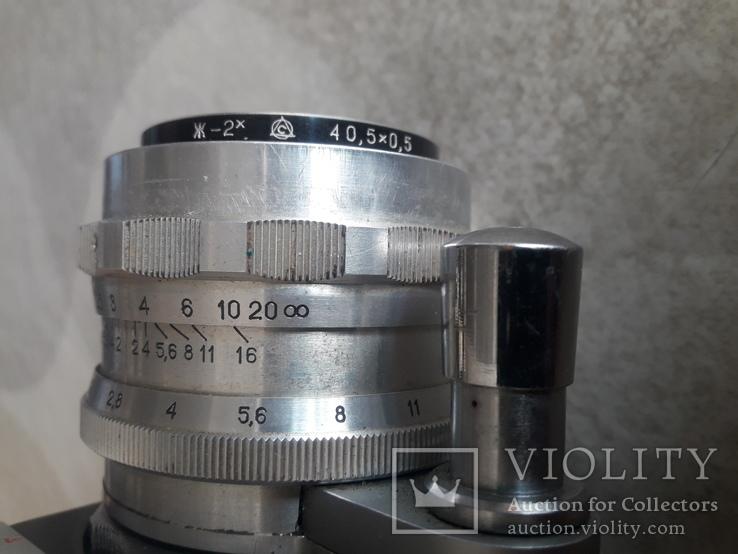 "Фотоаппарат ""Старт"" номер 6225817 с объективом Гелиос- 44 ном. 0125241, фото №10"