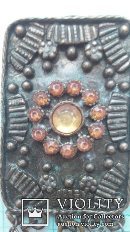 Бронзовый кулон, фото №2