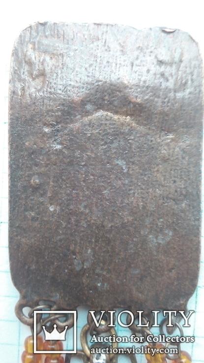 Бронзовый кулон, фото №4