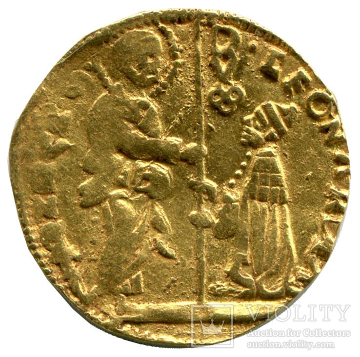 Цехин 1501-21гг. Венеция. Леонардо Лоредан