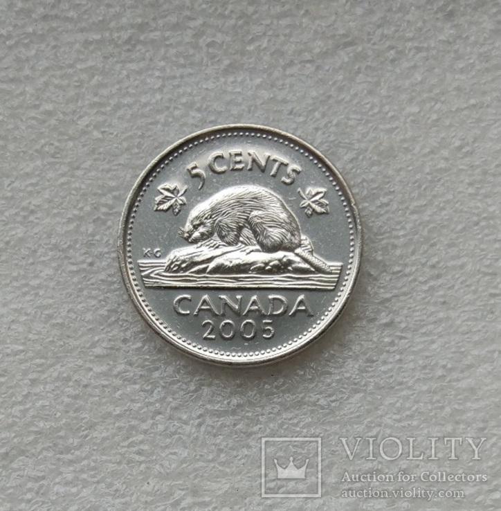5 Центов 2005 г. Канада