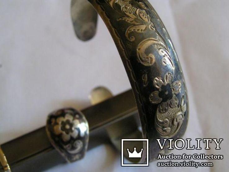 Браслет и кольцо комплект - серебро Кубачи Дагестан, фото №5