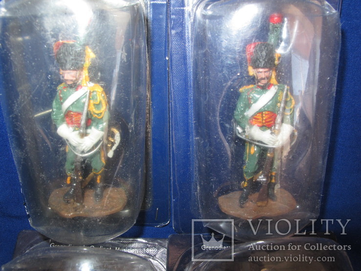 Лот 4 шт . гренадер 2 шт + Егерь 2 шт Наполеон, фото №3