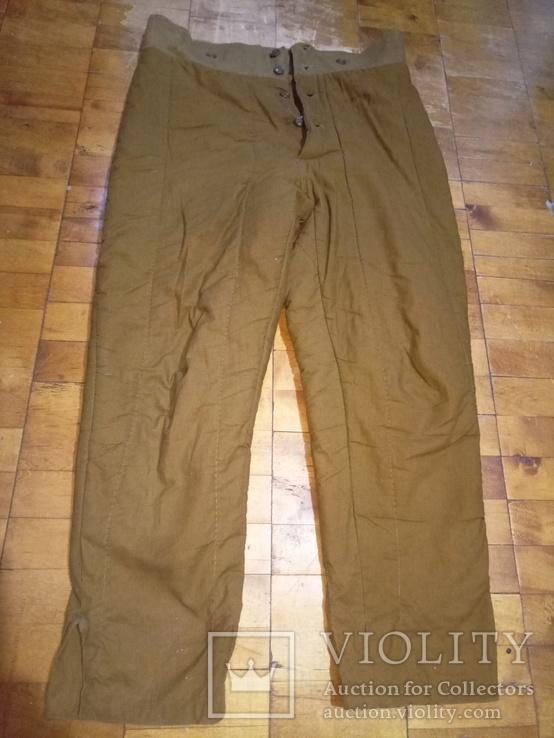 Ватные штаны маленького размера 2 шт, фото №3