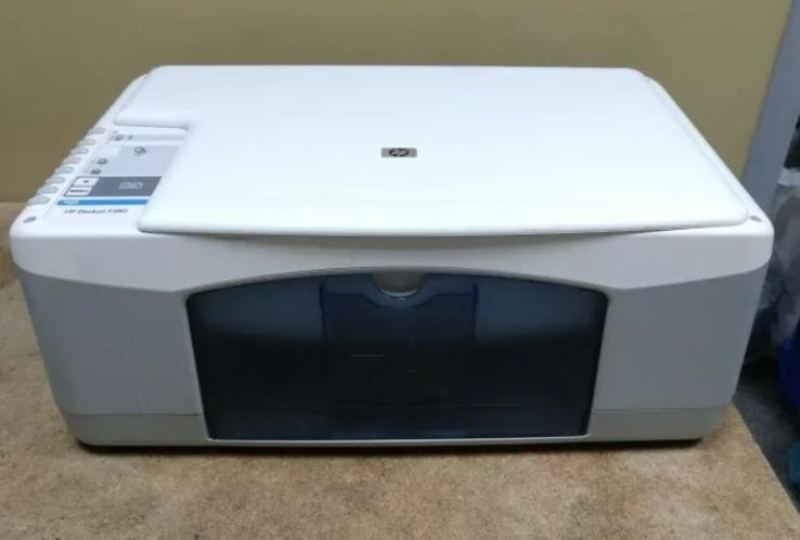Принтер,Сканер,копiр   HP Deskjet F380,(3 в 1), фото №3