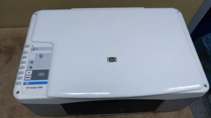 Принтер,Сканер,копiр   HP Deskjet F380,(3 в 1), фото №4