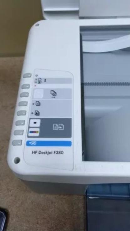 Принтер,Сканер,копiр   HP Deskjet F380,(3 в 1), фото №5