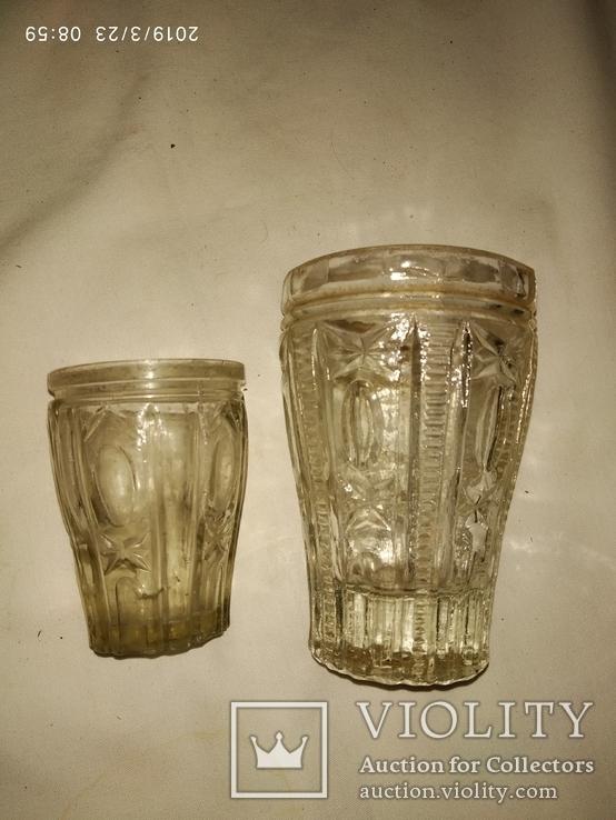 Рюмка и стопка толстое стекло, фото №2