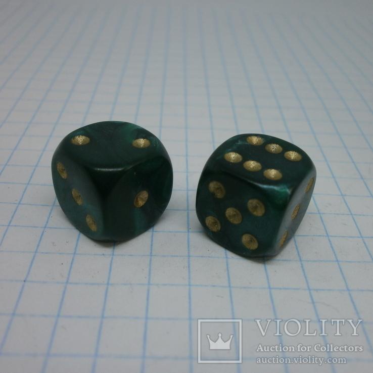 Пара кубиков для игр., фото №2