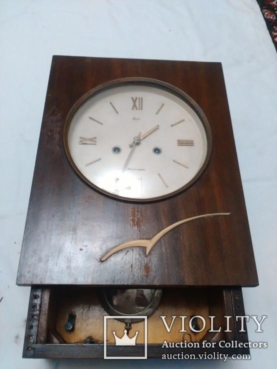 Часы Янтарь с боем механизм ОЧ3, фото №2