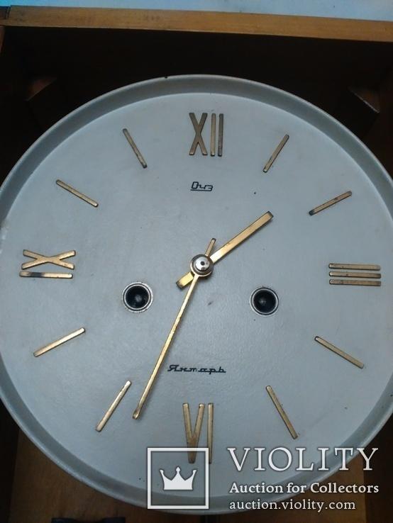 Часы Янтарь с боем механизм ОЧ3, фото №4
