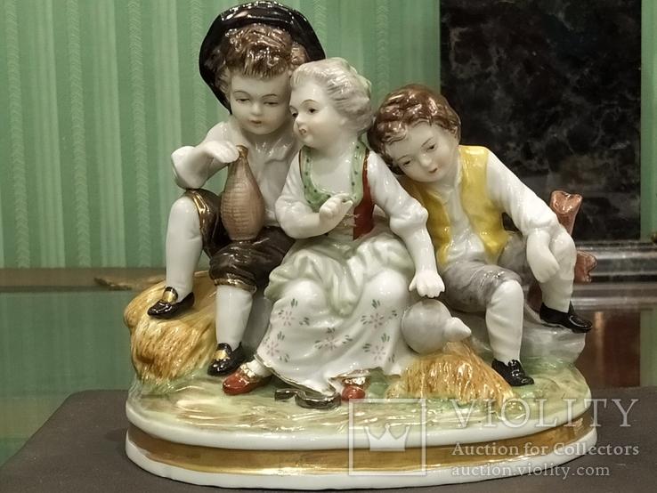 Милая троица коллекционная статуэтка Royal
