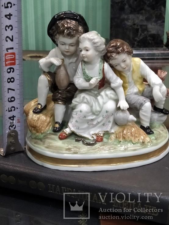 Милая троица коллекционная статуэтка Royal, фото №12