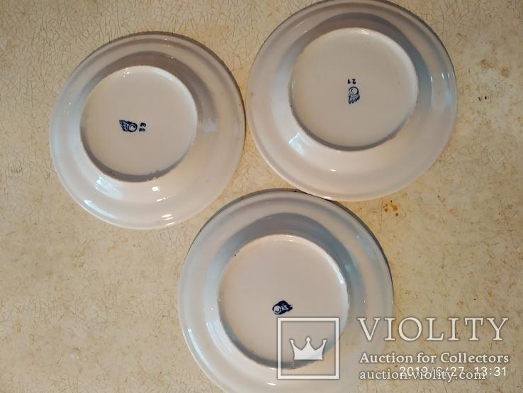 Три тарелки ОП, фото №4