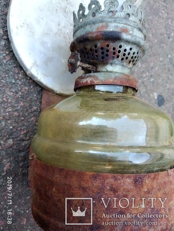 Керосиновая лампа стекло 1, фото №4