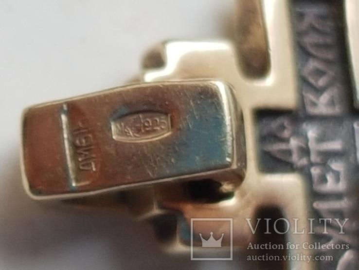 Крестик нательный. Серебро 925 проба. Вес 2.63 г., фото №5