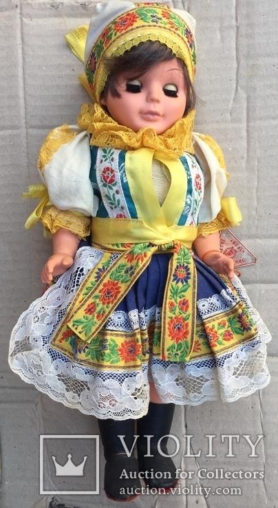 Чехословацкая народная кукла