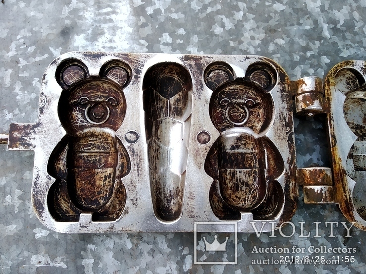 Форма для выпечки Олимпийские мишки, фото №4