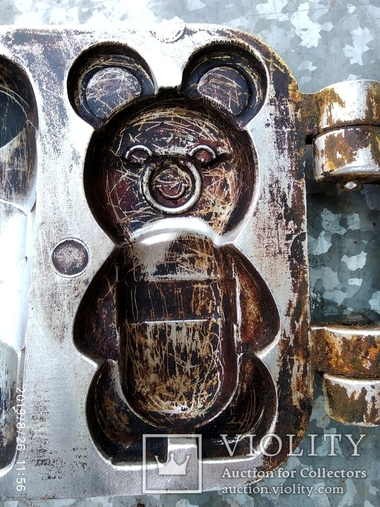 Форма для выпечки Олимпийские мишки, фото №6