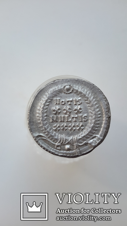 Constantius II. AD 337-361. AR Siliqua (R3) (вес-3.59 гр.), фото №5