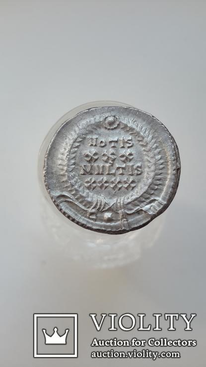 Constantius II. AD 337-361. AR Siliqua (R3) (вес-3.59 гр.), фото №8