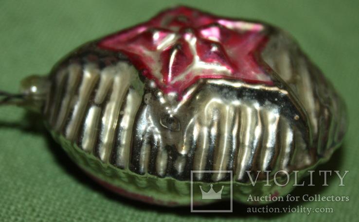 Медальйон серп и молот., фото №4