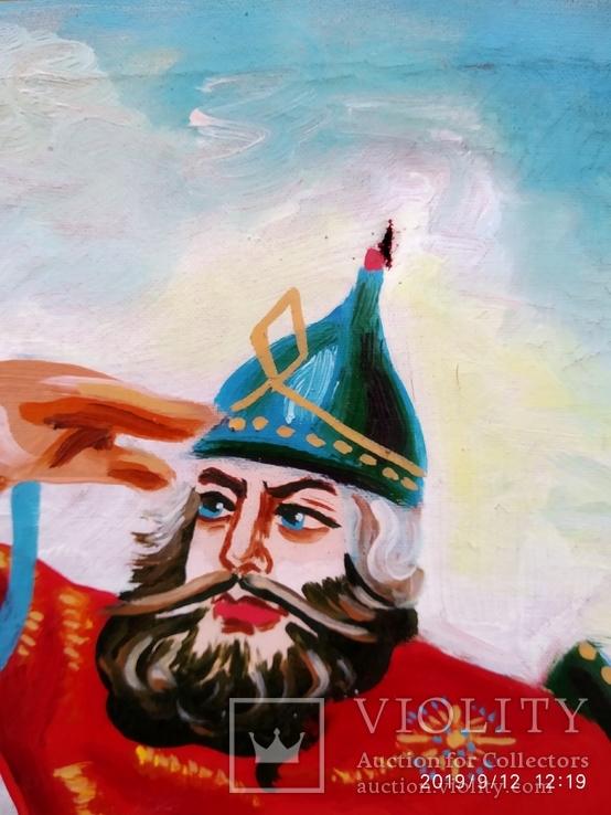Копия картины Три богатыря 4, фото №6