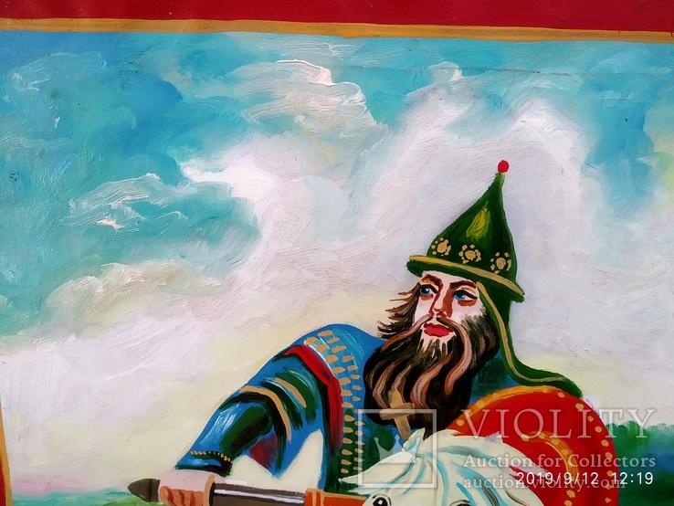 Копия картины Три богатыря 4, фото №7