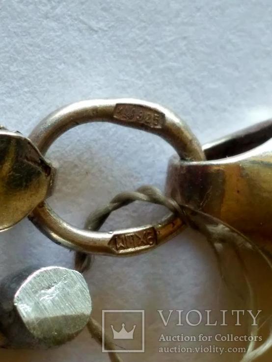 Цепочка ( новая ) серебро, фото №5