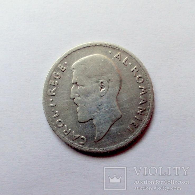 Румыния 1 лея 1910 года., фото №3