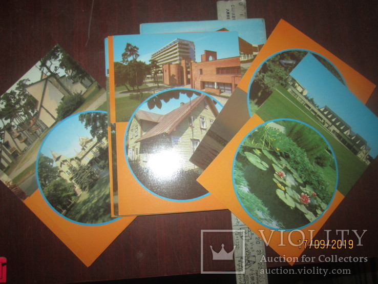 Паланга- набор открыток СССР, фото №3