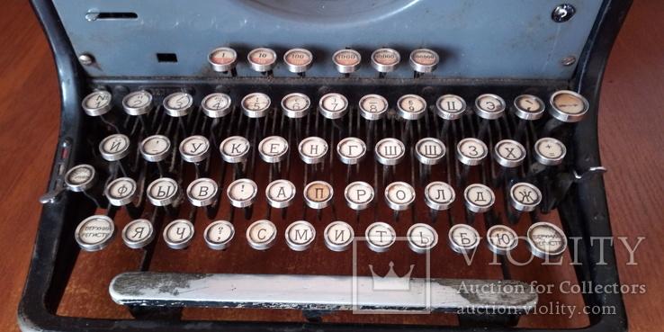 Немецкая печатная машинка Adler, фото №3