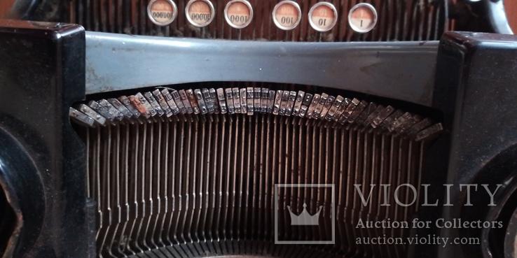 Немецкая печатная машинка Adler, фото №6