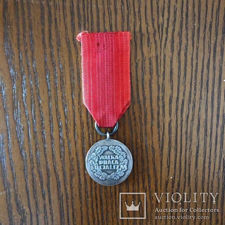 Польша. Медаль 30 лет Народной Польше. 1944-1974 г, фото №3