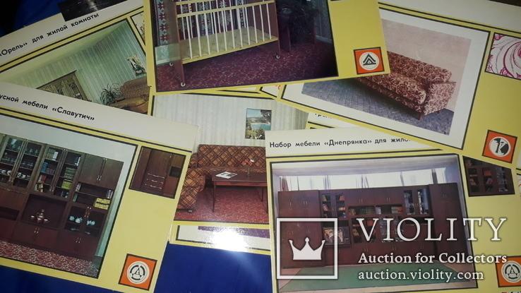1984 Каталог мебели ДнепропетровскДрев - 1000 экз., фото №2