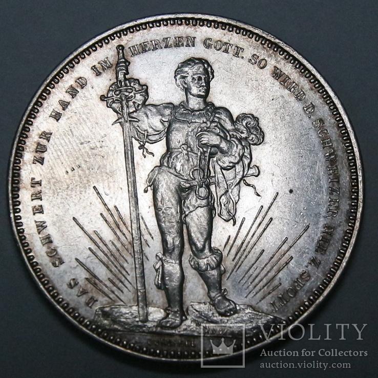 5 франков 1879. Серебро. 25.00 г