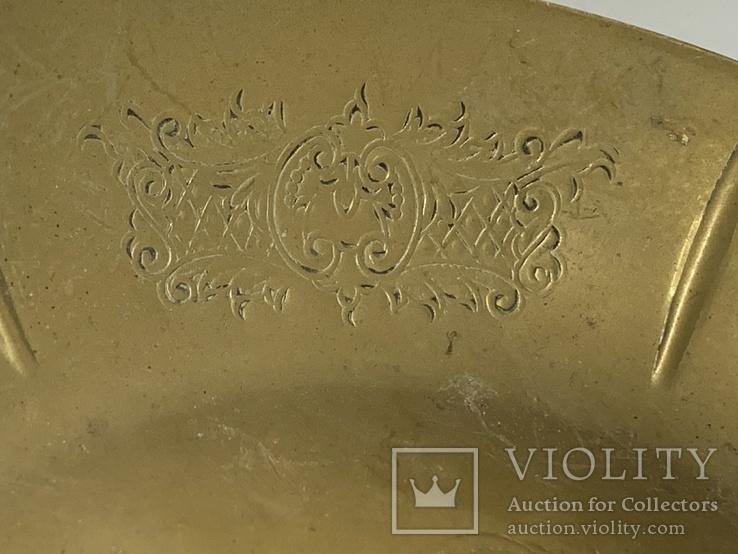 Винтажная Тарелка Silver Plate Made in England, фото №3