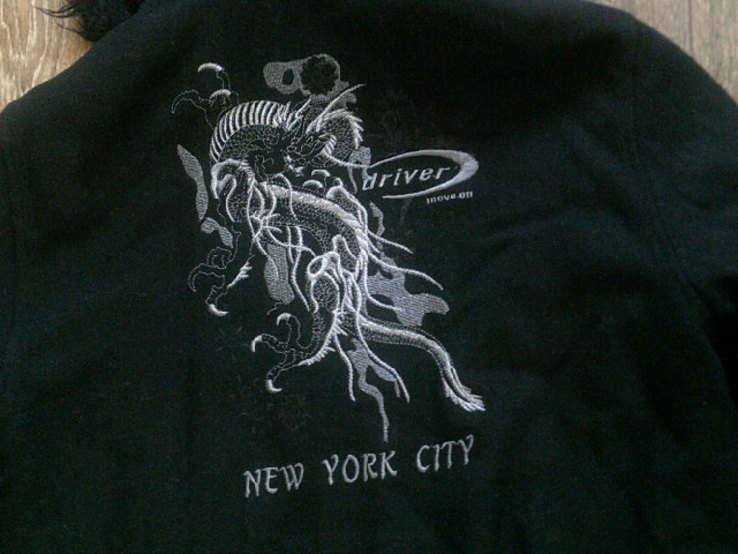 Driver New York City - теплая куртка толстовка, фото №8