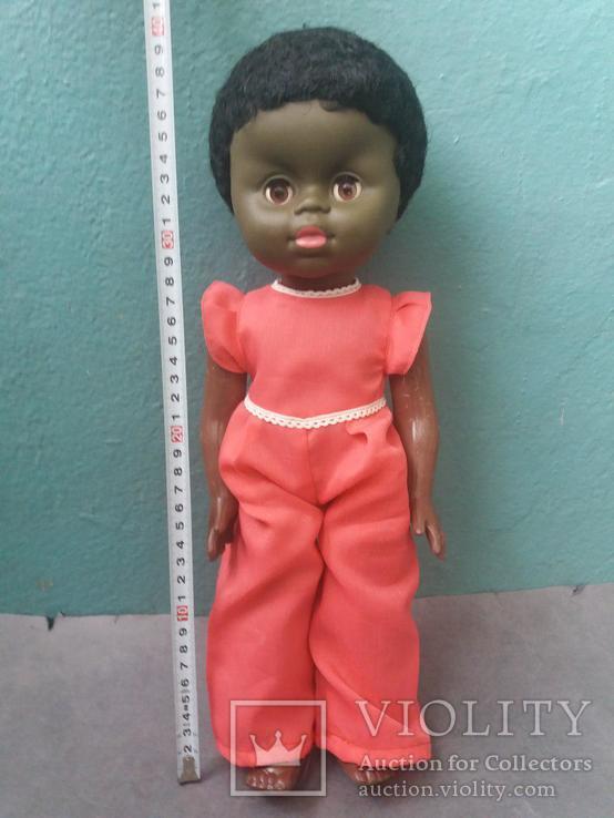 Кукла негритянка на резинках, фото №2