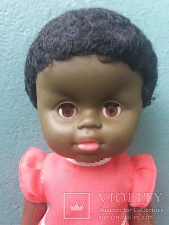 Кукла негритянка на резинках, фото №3